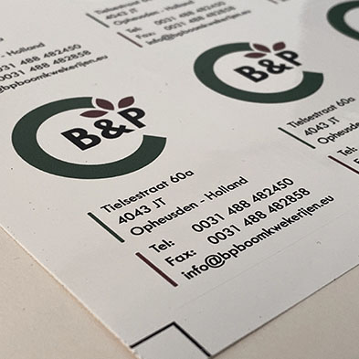 Stickers (klein formaat)